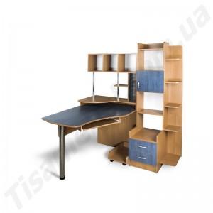 Угловой компьютерный стол Эксклюзив-3