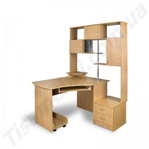 Угловой компьютерный стол Эксклюзив-5
