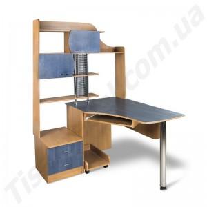 Угловой компьютерный стол Эксклюзив-6