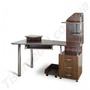 Угловой компьютерный стол Эксклюзив-7