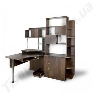 Угловой компьютерный стол Эксклюзив-8