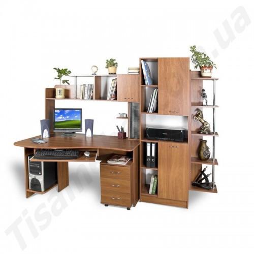 Прямой компьютерный стол Гросс Тиса Мебель