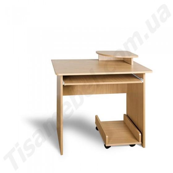 Прямой компьютерный стол Мини Тиса Мебель