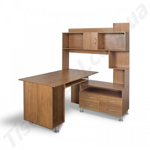 Угловой компьютерный стол Моби Тиса Мебель