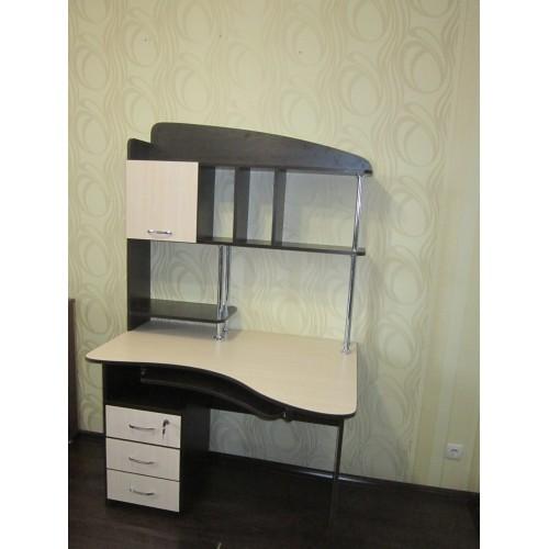 Прямой компьютерный стол СК-21 Тиса Мебель