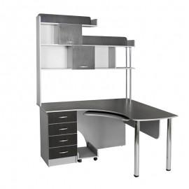 Угловой компьютерный стол Тиса Мебель