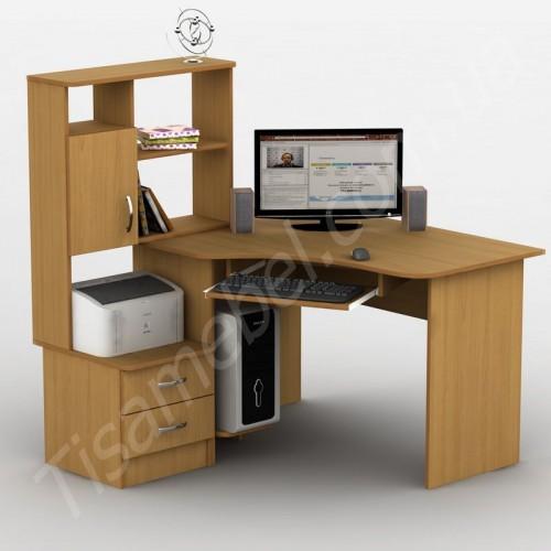 Угловой компьютерный стол Тиса-1 Тиса Мебель