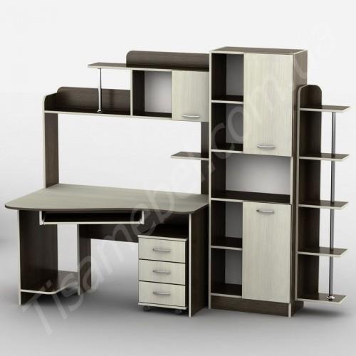 Прямой компьютерный стол Тиса-29 Тиса Мебель