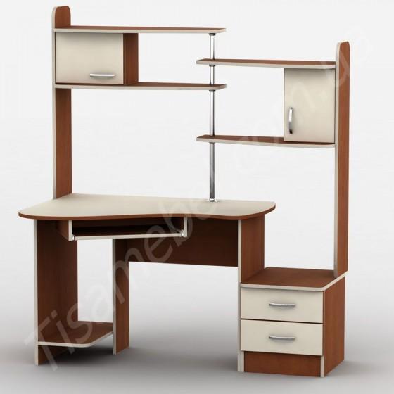 Прямой компьютерный стол Тиса-9 Тиса Мебель